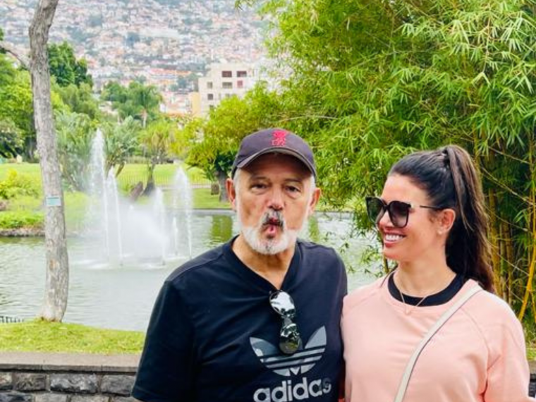 Becky Vardy and her father